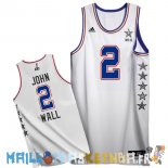 Maillot NBA 2015 All Star NO.2 John Wall Blanc Pas Cher
