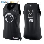 Maillot NBA Femme 2018 All Star NO.2 John Wall Noir Pas Cher