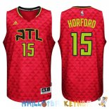 Maillot NBA Atlanta Hawks NO.15 Al Horford Rouge Pas Cher