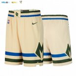 Pantalon Milwaukee Bucks Nike Crème Ville 2019-20