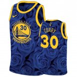 Maillot Golden State Warriors Nike NO.30 Stephen Curry Marine Pas Cher