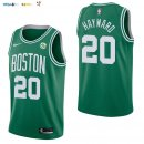 Maillot NBA Boston Celtics NO.20 Gordon Hayward Vert 2017-2018 Pas Cher