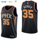 Maillot NBA Phoenix Suns NO.35 Dragan Bender Noir Statement 2017-2018 Pas Cher