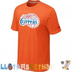 Maillot NBA L.A. Clippers Orange Pas Cher