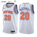 Maillot NBA New York Knicks NO.20 Doug McDermott Blanc Statement 2017-2018 Pas Cher
