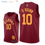 Maillot NBA Indiana Pacers NO.10 Kyle O'Quinn Nike Retro Bordeaux 2018-2019 Pas Cher