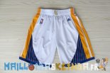 Pantalon NBA Golden State Warriors Blanc Pas Cher