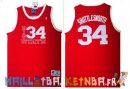 Maillot NBA Pelicula Basket-Ball Big State NO.34 Shuttlesworth Rouge Pas Cher