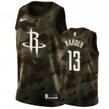 Maillot Houston Rockets Nike NO.13 James Harden Camouflage 2019 Pas Cher