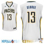 Maillot NBA Indiana Pacers NO.13 Paul George Blanc Pas Cher
