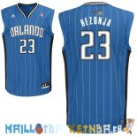 Maillot NBA Orlando Magic NO.23 Mario Hezonja Bleu Pas Cher