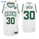 Maillot NBA Boston Celtics NO.30 Gerald Green Blanc 2017-2018 Pas Cher