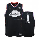 Maillot NBA Enfant 2019 All Star NO.0 Kyle Kuzma Noir Pas Cher