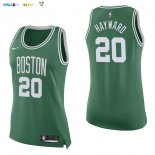 Maillot NBA Femme Boston Celtics NO.20 Gordon Hayward Vert Icon Pas Cher