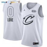 Maillot NBA 2018 All Star NO.0 Kevin Love Blanc Pas Cher