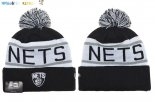 Gorritas NBA 2017 Brooklyn Nets Gris NO.02 Pas Cher