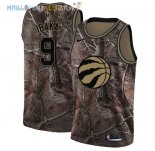 Maillot Toronto Raptors NO.9 Serge Ibaka Camo NBA Swingman Collection Realtree 2018 Pas Cher
