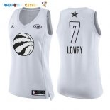 Maillot NBA Femme 2018 All Star NO.7 Kyle Lowry Blanc Pas Cher