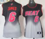 Maillot NBA Femme Resonar Moda NO.6 LeBron Jamese Pas Cher