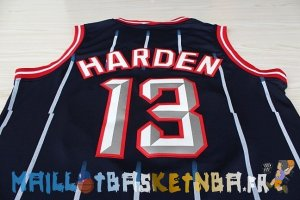 Maillot NBA Houston Rockets NO.13 James Harden Retro Bleu Pas Cher