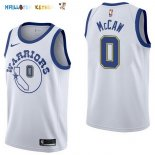Maillot NBA Golden State Warriors NO.0 Patrick McCaw Nike Retro Blanc 2017-2018 Pas Cher