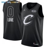 Maillot NBA 2018 All Star NO.0 Kevin Love Noir Pas Cher