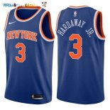 Maillot NBA New York Knicks NO.3 Tim Hardaway Jr Bleu Icon 2017-2018 Pas Cher