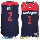 Maillot NBA Washington Wizards NO.2 John Wall Noir Pas Cher