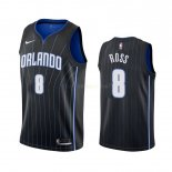 Maillot NBA Orlando Magic Nike NO.8 Terrence Ross Noir Statement 2019-20 Pas Cher