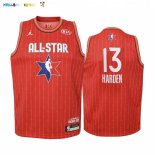 Maillot NBA Enfant 2020 All Star NO.13 James Harden Rouge