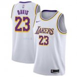 Maillot Los Angeles Lakers Nike NO.23 Anthony Davis Blanc Association 2019-20 Pas Cher