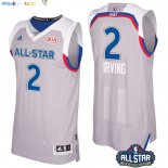 Maillot NBA 2017 All Star NO.2 kyrie Irving Gray Pas Cher