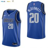 Maillot NBA Dallas Mavericks NO.20 Doug McDermott Bleu Icon 2017-2018 Pas Cher