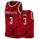 Maillot Houston Rockets Nike NO.3 Chris Paul Rouge Pas Cher