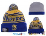 New Era Bonnet NBA 2016 Golden State Warriors Bleu Pas Cher