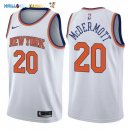 Maillot NBA New York Knicks NO.20 Doug McDermott Blanc Association 2017-2018 Pas Cher