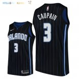 Maillot NBA Orlando Magic NO.3 Troy Caupain Noir Statement 2018 Pas Cher
