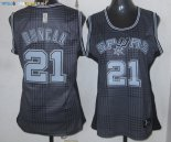 Maillot NBA Femme 2013 Static Fashion NO.21 Duncan Pas Cher