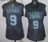 Maillot NBA Femme 2013 Static Fashion NO.9 Rondo Pas Cher