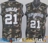 Maillot NBA 2013 Camouflage NO.21 Duncan Pas Cher