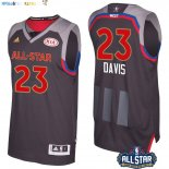 Maillot NBA 2017 All Star NO.23 Anthony Davis Charbon Pas Cher
