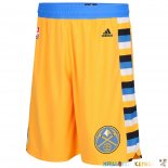 Pantalon NBA Denver Nuggets Jaune Pas Cher