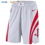 Pantalon NBA Houston Rockets Nike Blanc Pas Cher