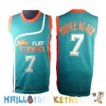 Maillot NBA Film Basket-Ball Flint Hill NO.7 Coffee Black Bleu Pas Cher
