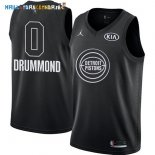 Maillot NBA 2018 All Star NO.0 Andre Drummond Noir Pas Cher