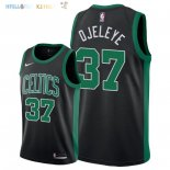 Maillot NBA Boston Celtics NO.37 Semi Ojeleye Noir Statement 2018 Pas Cher