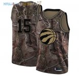 Maillot Toronto Raptors NO.15 Vince Carter Camo NBA Swingman Collection Realtree 2018 Pas Cher