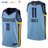 Maillot NBA Memphis Grizzlies NO.11 Mike Conley Bleu Statement 2017-2018 Pas Cher