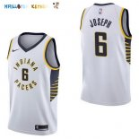 Maillot NBA Indiana Pacers NO.6 Cory Joseph Blanc Association 2017-2018 Pas Cher