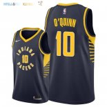 Maillot NBA Indiana Pacers NO.10 Kyle O'Quinn Marine Icon 2018-2019 Pas Cher